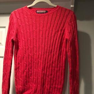 NWOT vineyard vines coral sweater